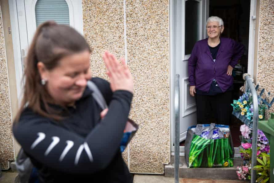 Fare, an action group in Glasgow, has been delivering food parcels to vulnerable families and self-isolating elderly people.
