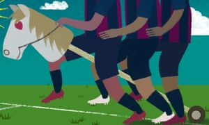 'Neymar-Messi-Suárez aren't just the best. They're the bestests. Bros. Pals. Shoulder punching, high-fiving, bread-baking, wooden-horse sharing exemplars of the power of man-love.'