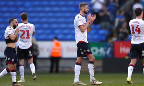 Football League: Bolton relegated to League One, Sheffield United go second
