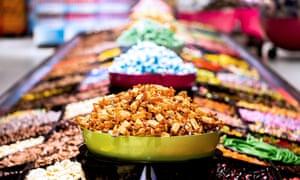 Sweets on sale in Gottebiten.