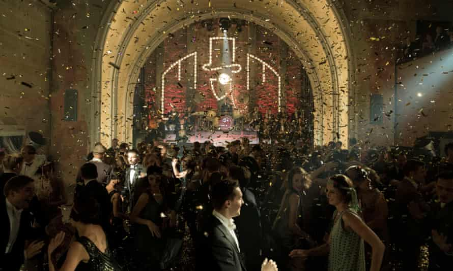 The opulent atmosphere of the Weimar Republic is recreated in Babylon Berlin