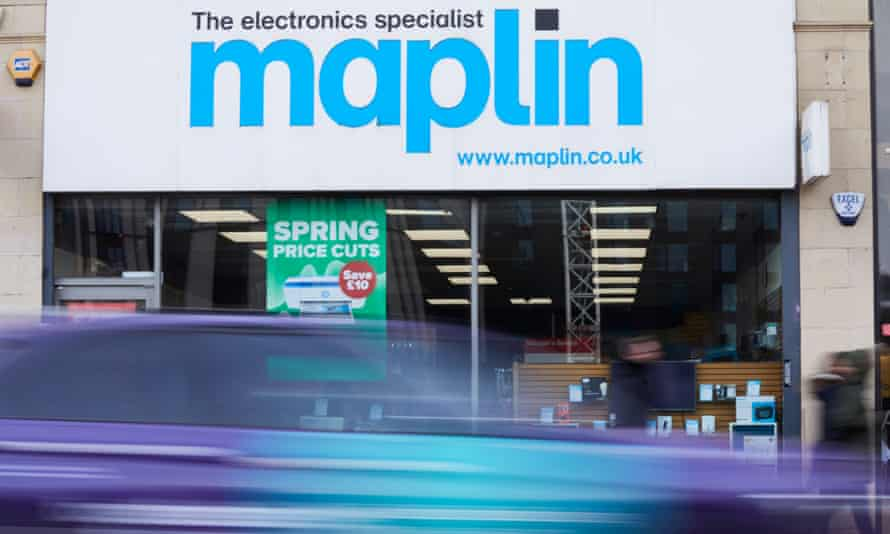 A Maplin store in Manchester.