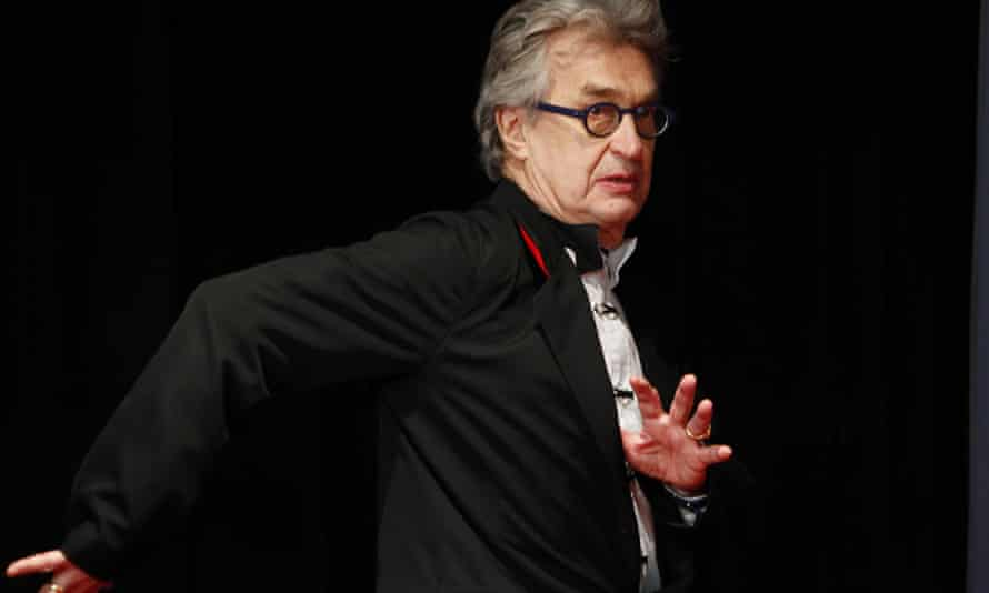 Playful insights … Wim Wenders.