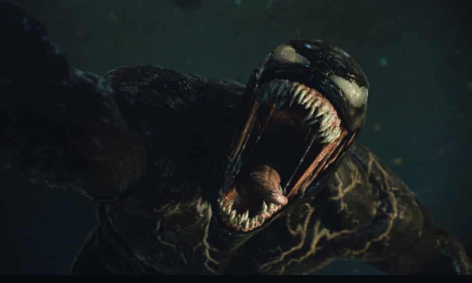 A scene from Venom: Let There Be Carnage