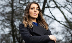 MP Rosena Allin-Khan at Tooting Bec Common,