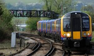 A South West Trains train