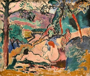 Henri Matisse's La Pastorale (Pastoral, 1906). The artwork was one of five paintings stolen from the City Museum of Modern Art in Paris, in May 2010.