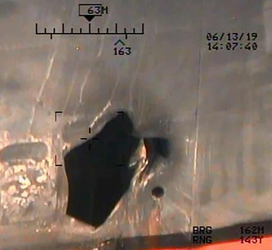 More evidence incriminating Iran in the June 13 tanker attacks in the Gulf of Oman, according to the US.