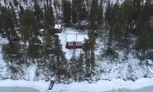 The remote property in Sweden that Carl Beech purchased after Northumbria police started to look into his allegations.