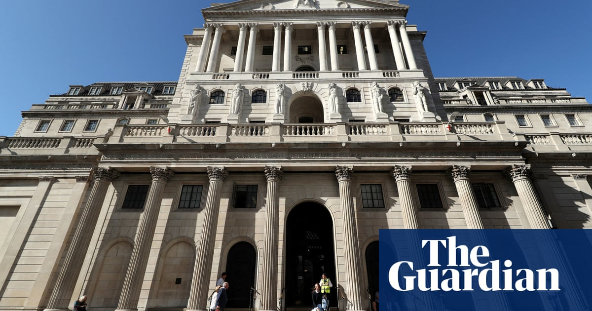 UK set for strongest economic growth since WWII, forecasts Bank of England