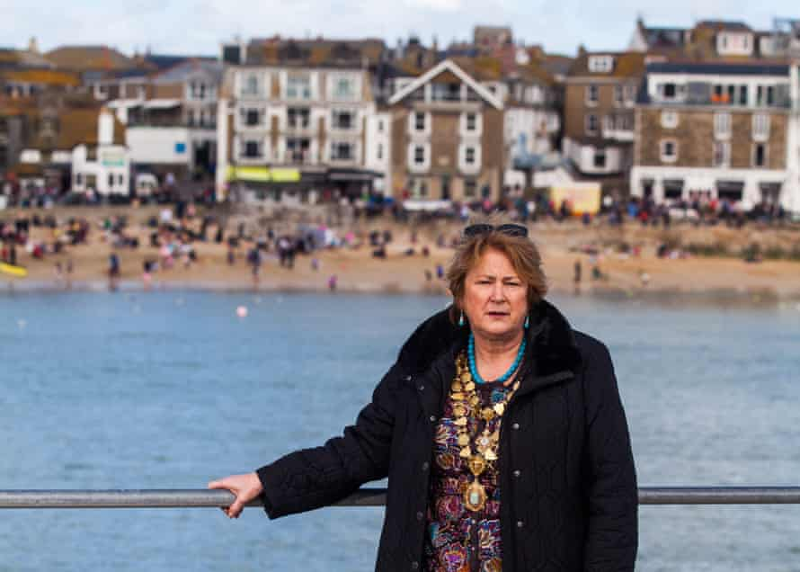 'Second homers are vital to our economy': St Ives mayor Linda Taylor