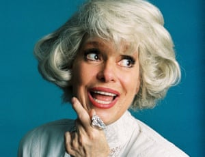 d6bf0e0edc1 Carol Channing  the sparky Broadway and film star with a husky comic ...