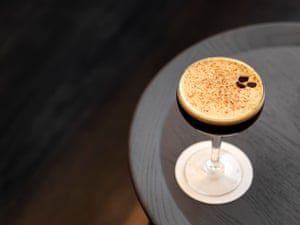 An espresso martini at Pascale's at QT Melbourne