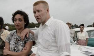 Joel Edgerton, Ruth Negga Joel Edgerton and Ruth Negga as Richard and Mildred Loving.