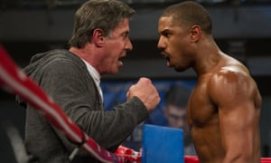 Bellowheads … Sylvester Stallone and Michael B Jordan in Creed.