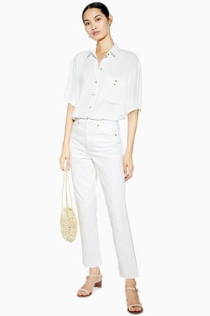 2e21a5105370d All white now: the great white jeans revival | Fashion | The Guardian