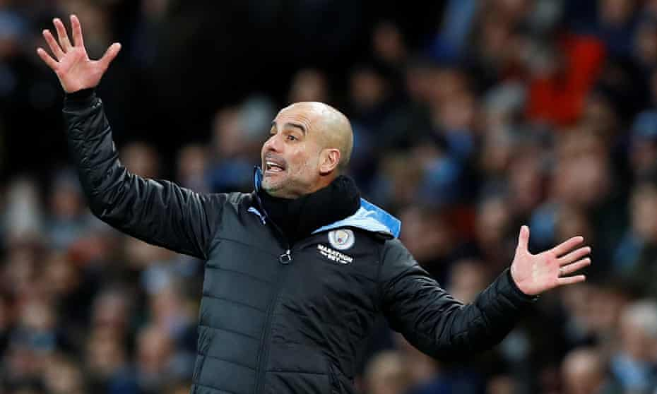 Pep Guardiola says he dreams of winning the Champions League.