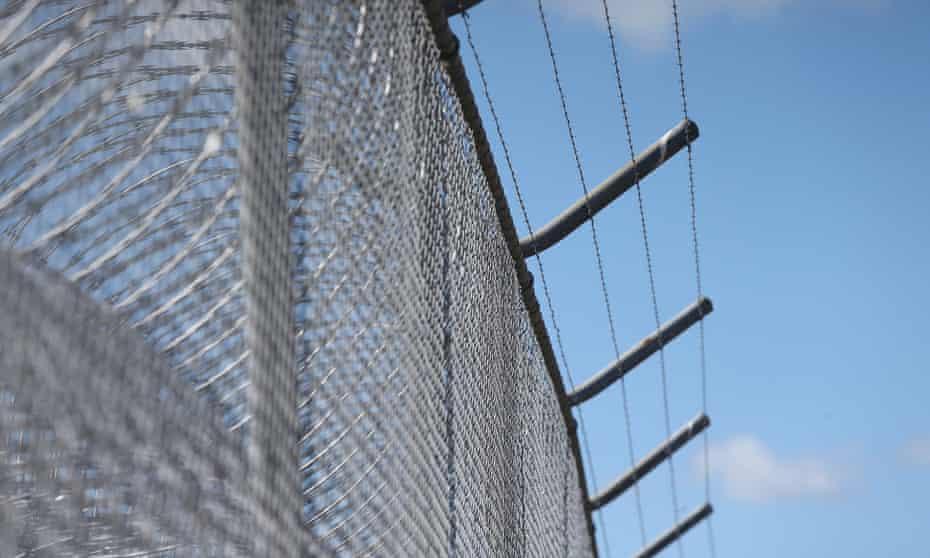 Jail razor wire