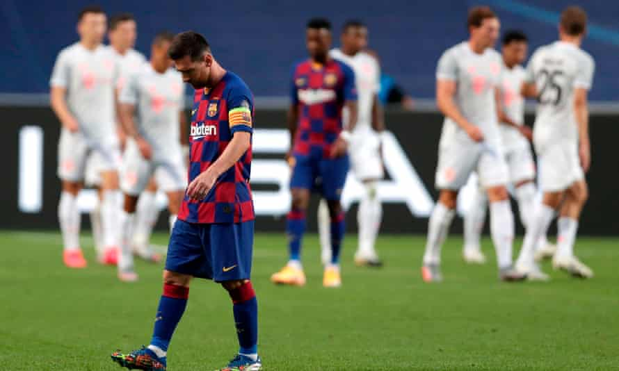 Lionel Messi believes a clause in his contract allows him to leave Barcelona for free.