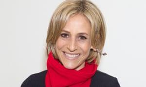 Emily Maitlis: pairing up with Evan Davis on the BBC's Newsnight.