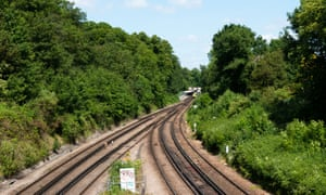 Railway lines in Bromley