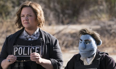 Melissa McCarthy in a scene from The Happytime Murders.