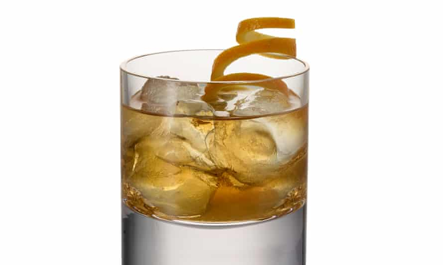 The non-alcoholic old fashioned.