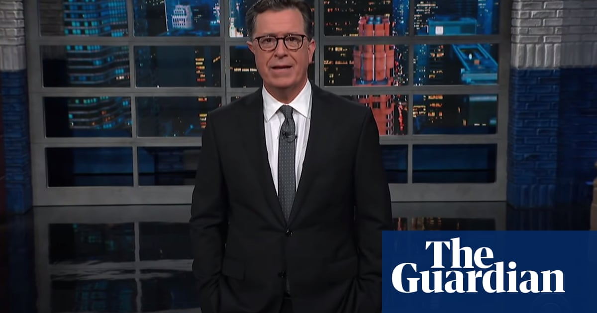 Stephen Colbert: 'Even the coronavirus is pitching a sequel'