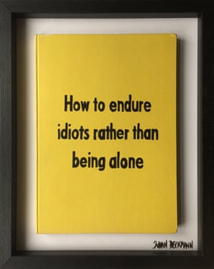 How to Endure Idiots Rather Than Being Alone from Art Therapy by Johan Deckmann