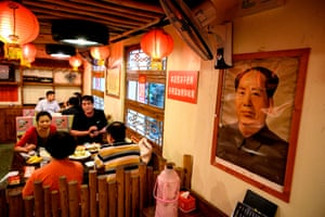 There is even a growing number of revolutionary themed restaurants where Communist imagery adorns the walls