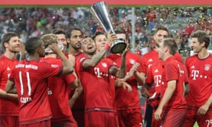 Will Bayern Munich be celebrating with more silverware at the end of this season?