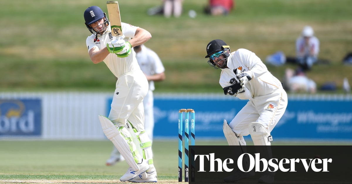 Jos Buttler and Joe Denly excel with the bat in England tour match