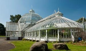 The Winter Gardens at Tollcross Park Glasgow