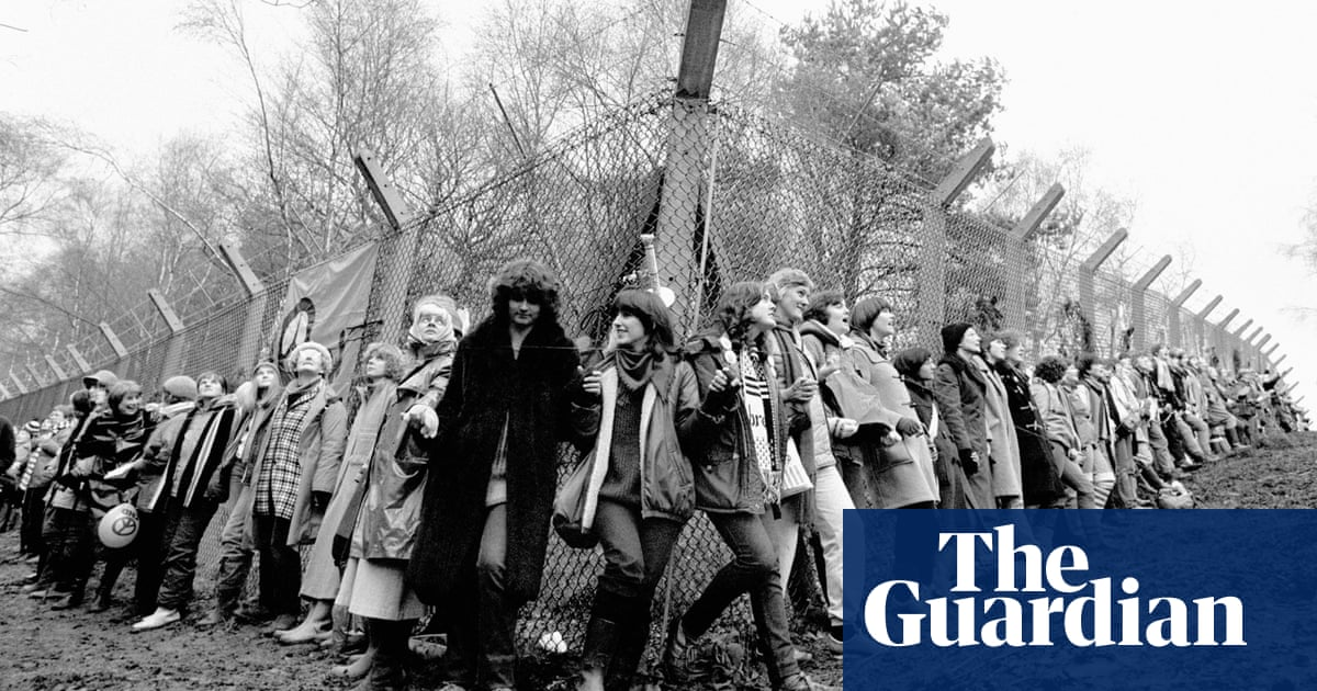 'We owe them a huge amount': march to honour Greenham Common women