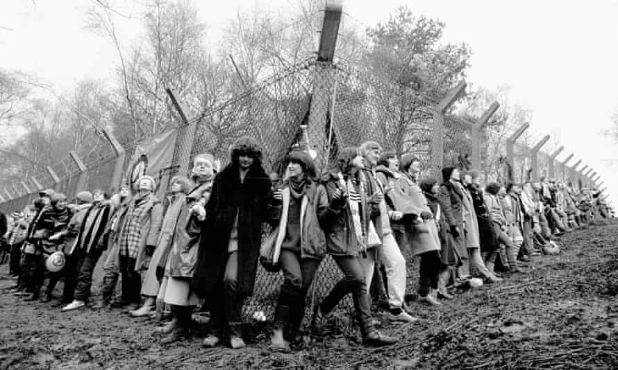 Women's peace protests - RAF Greenham Common air base