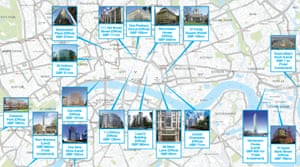 Chinese property investments in London.