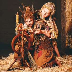 Gavin Coward and Natalie Trewinnard in Rumpelstiltskin by Ballet Lorent.