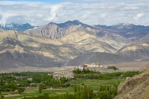 A view of the Phyang monastery in Ladakh.