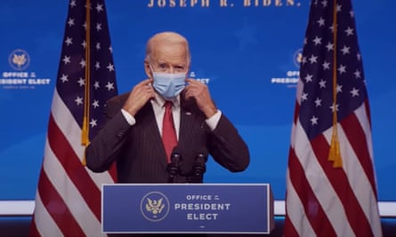 Joe Biden en Wilmington, Delaware el jueves.