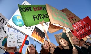 If children don't join the climate strike, their schools are