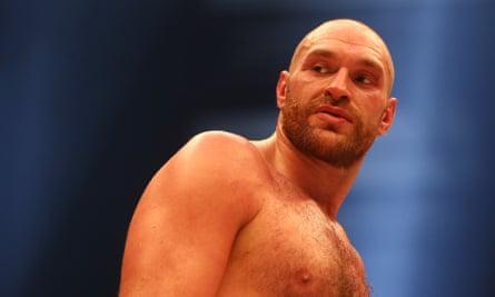 British boxer Tyson Fury