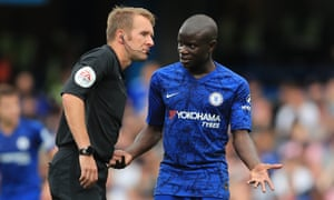 N'Golo Kanté, unable to concentrate for all the wooing.