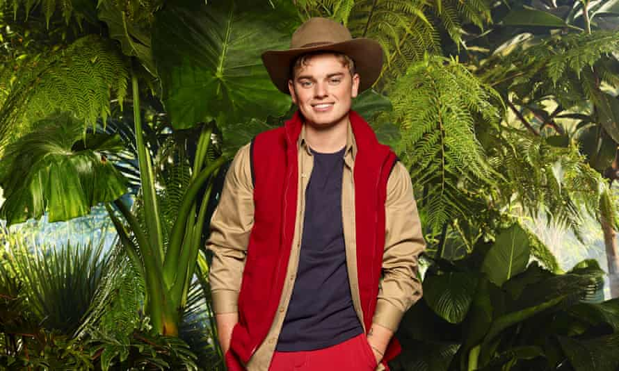 Jack Maynard pictured in the jungle