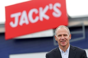 Tesco CEO Dave Lewis in Chatteris