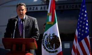 John Feeley in Mexico in 2010.