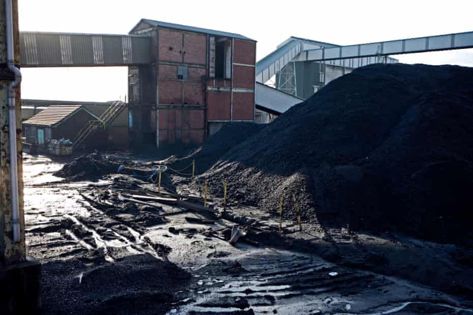 Thoresby Colliery in Nottinghamshire which, after years of threatened closure, shut in 2015.