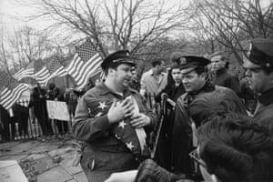 Peace Demonstration, Central Park, New York, 1969
