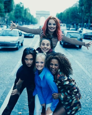 'Lunatics conquering the asylum' ... the Spice Girls.