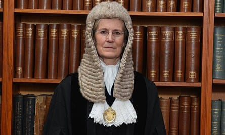 Emma Arbuthnot, senior district judge (chief magistrate), based at Westminster magistrates court.