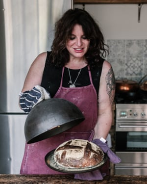 Vanessa Kimbell and her Dutch oven